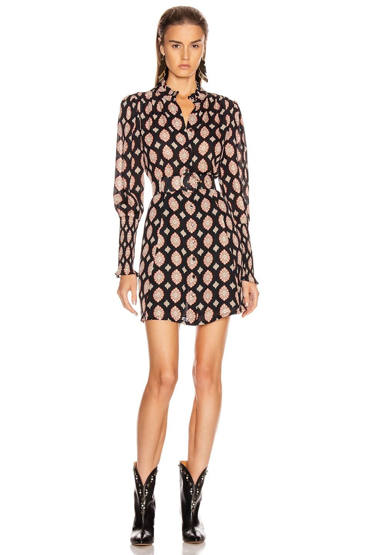 Image 1 of NICHOLAS Agadir Dress in Black