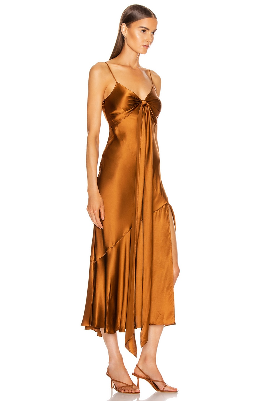Image 2 of NICHOLAS Sabine Dress in Bronze