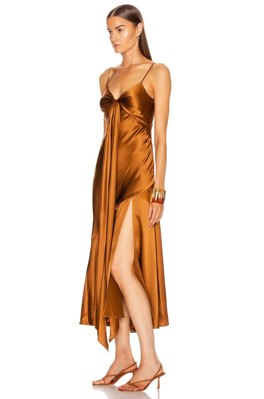 Image 3 of NICHOLAS Sabine Dress in Bronze