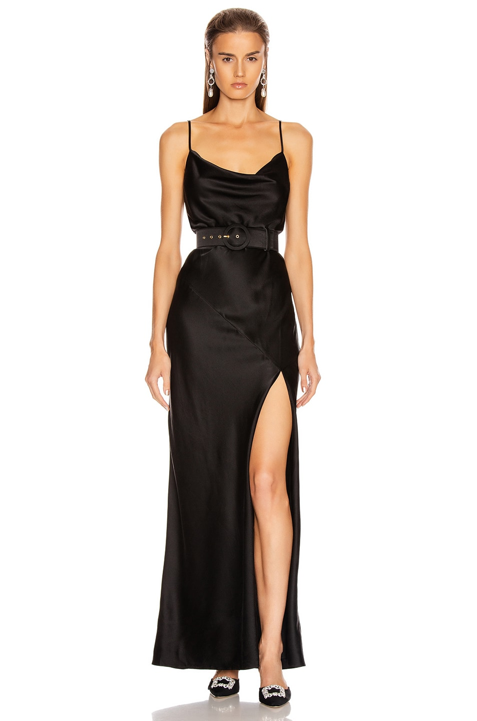 Image 1 of NICHOLAS Simone Dress in Black