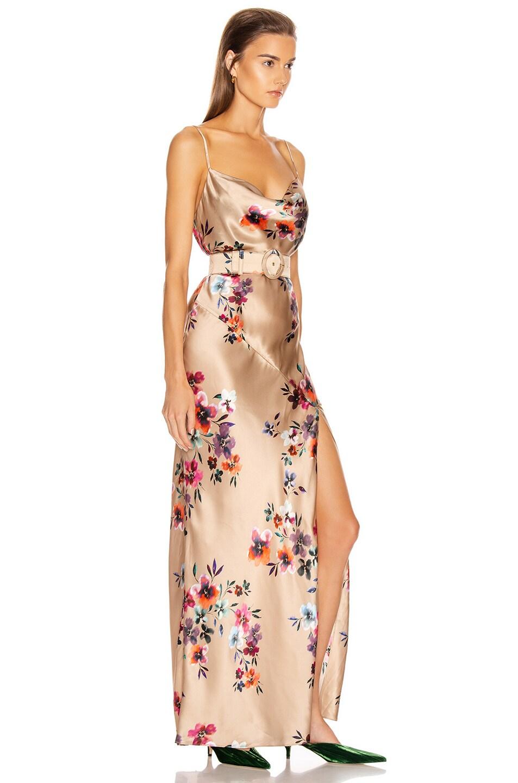 Image 2 of NICHOLAS Simone Dress in Taupe