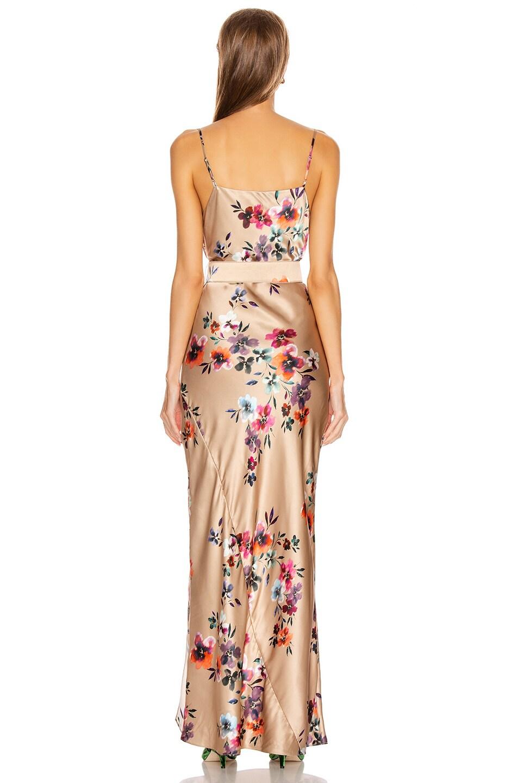 Image 4 of NICHOLAS Simone Dress in Taupe