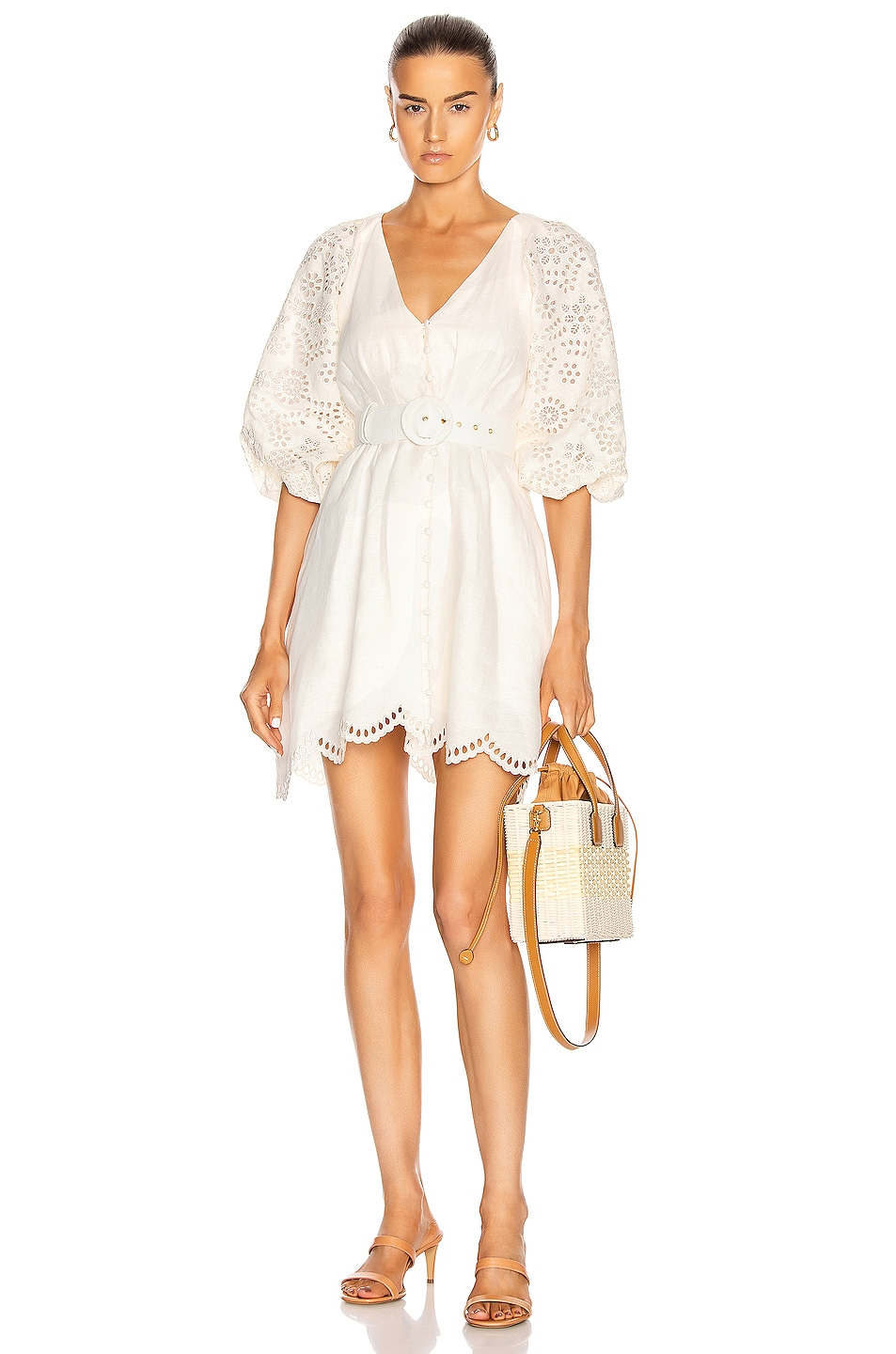 Image 1 of NICHOLAS Louise Dress in White