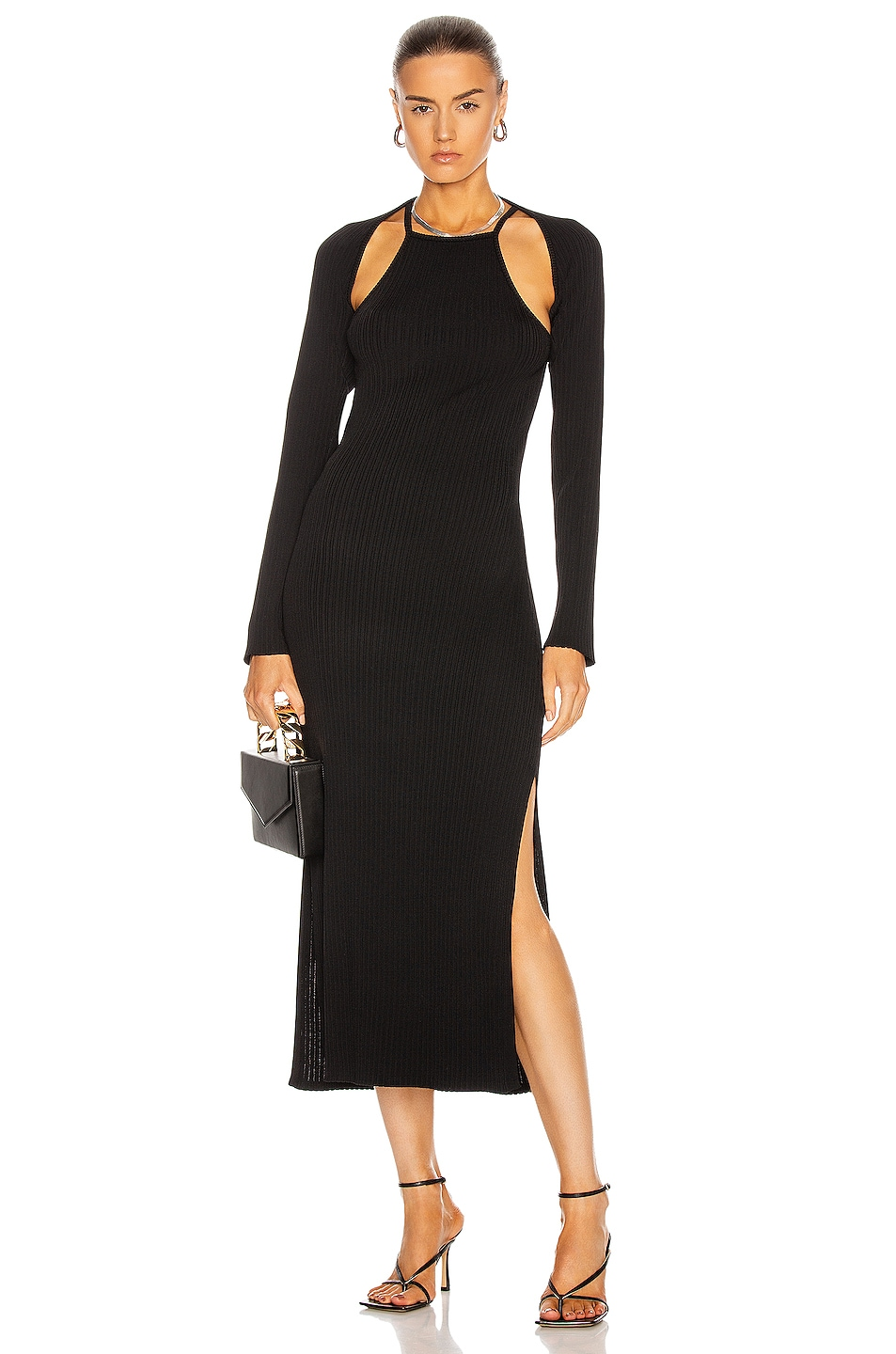 Image 1 of NICHOLAS Estela Dress in Black
