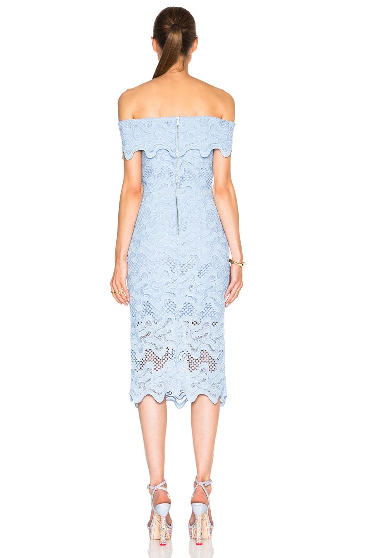 Image 4 of NICHOLAS Off Shoulder Dress in Cashmere