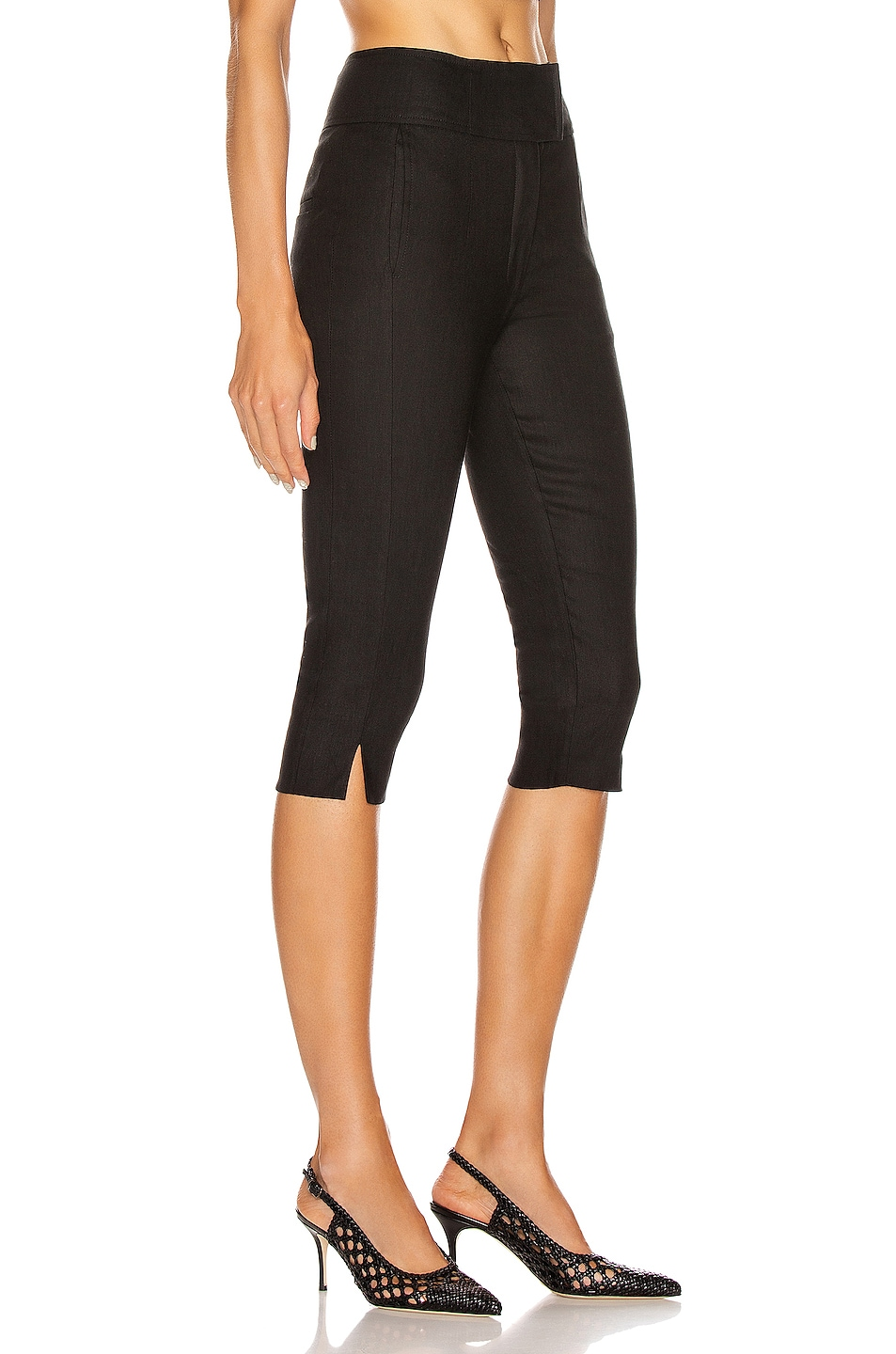 Image 2 of NICHOLAS Capri Pant in Black