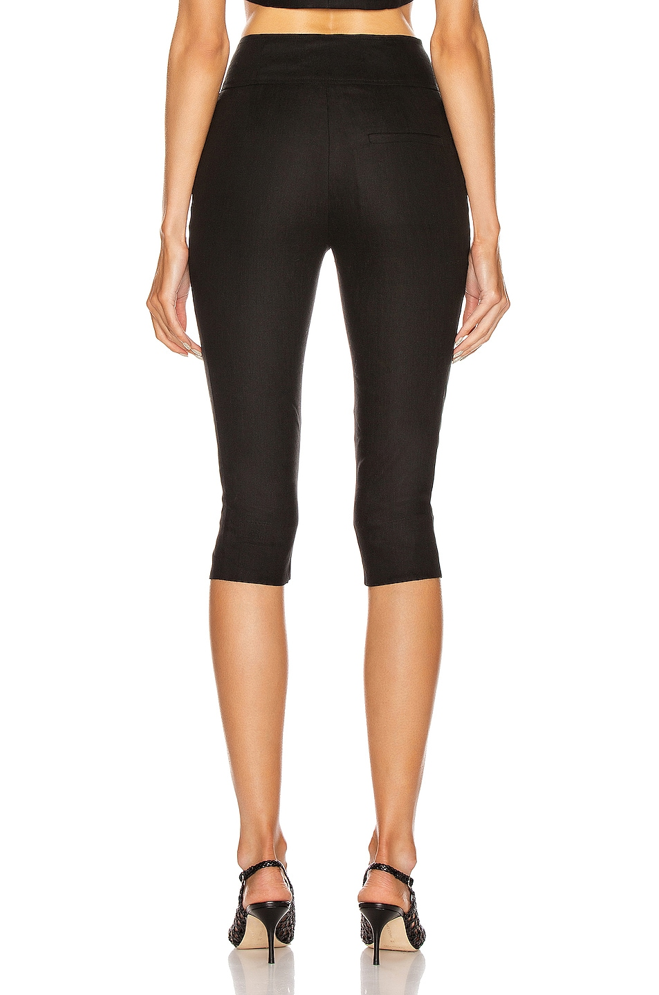 Image 3 of NICHOLAS Capri Pant in Black