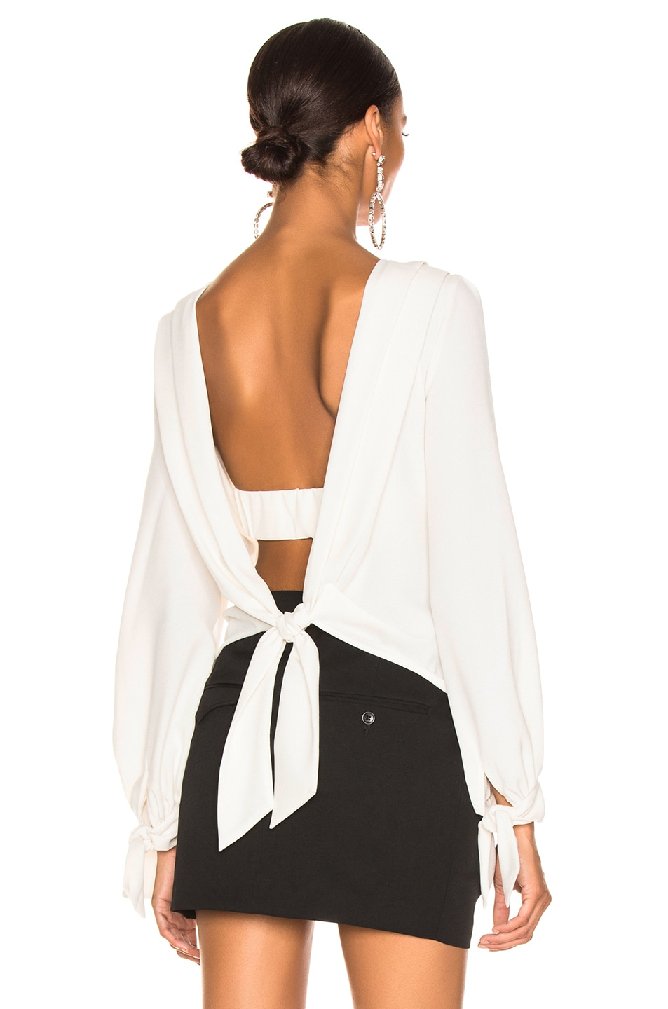 Image 1 of NICHOLAS Valentine Crepe Blouse in White