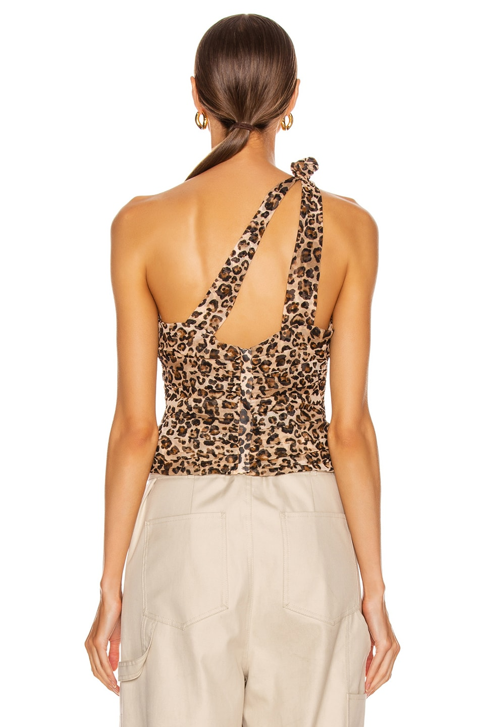 Image 3 of NICHOLAS Knot Top in Leopard