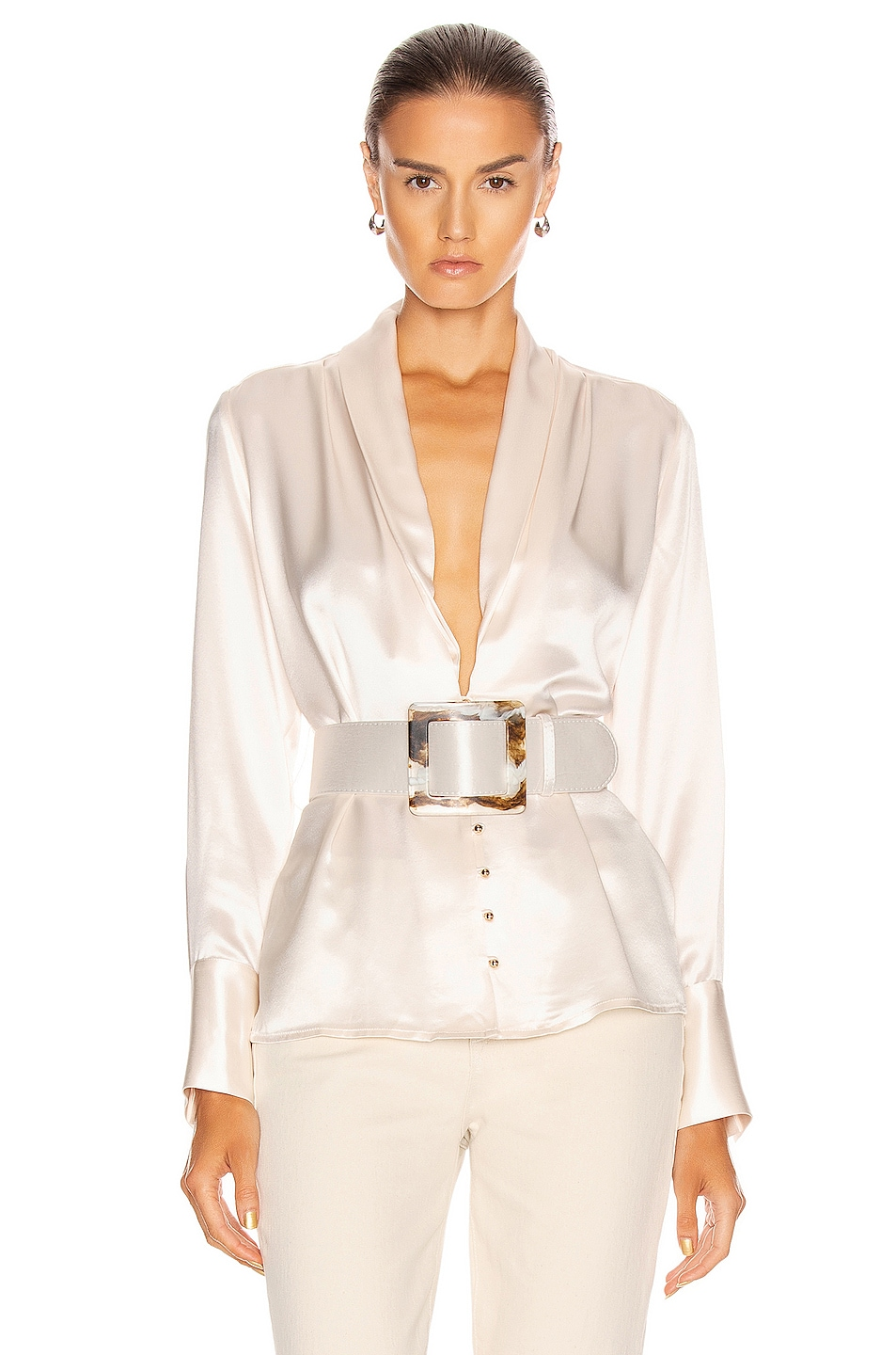Image 1 of NICHOLAS Sahra Top in Ivory