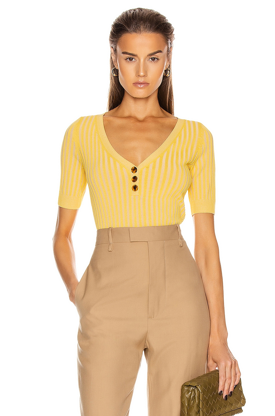 Image 1 of NICHOLAS Epices Knit Top in Soleil