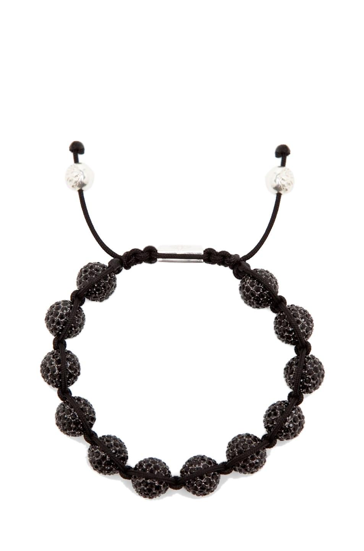 Image 1 of Nialaya Crystal Bracelet in Black