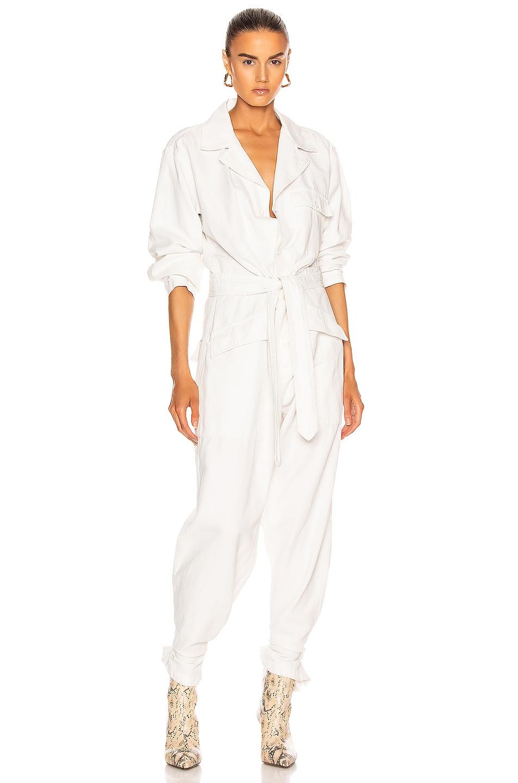 Image 1 of NILI LOTAN Aria Jumpsuit in White