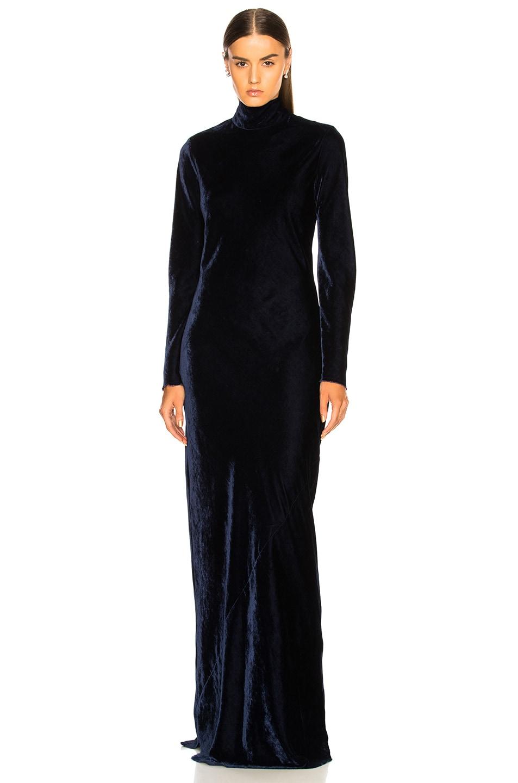 Image 2 of NILI LOTAN Genevieve Dress in Navy