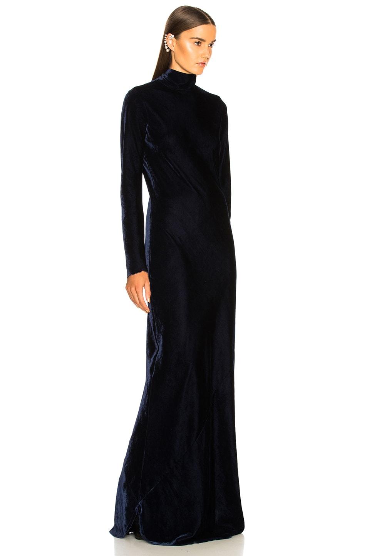 Image 3 of NILI LOTAN Genevieve Dress in Navy