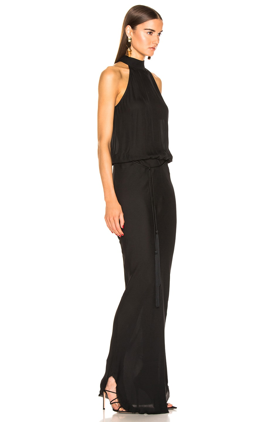 Image 2 of NILI LOTAN Alison Gown in Black