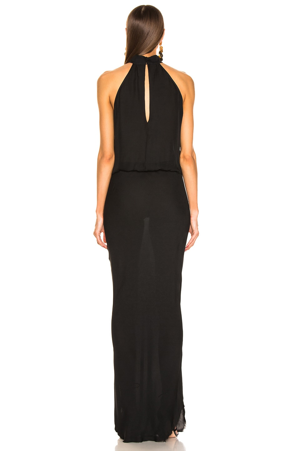 Image 3 of NILI LOTAN Alison Gown in Black