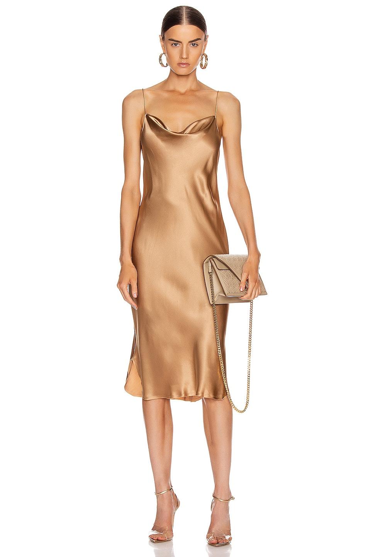 Image 1 of NILI LOTAN Junie Dress in Ginger