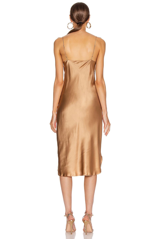 Image 3 of NILI LOTAN Junie Dress in Ginger