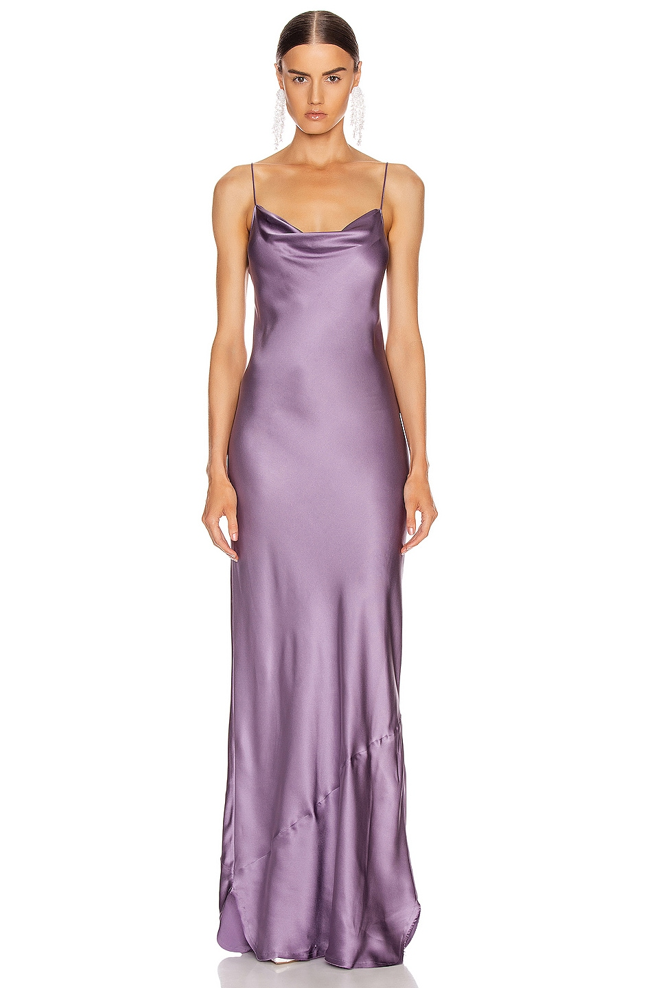 Image 1 of NILI LOTAN Juella Gown in Lilac