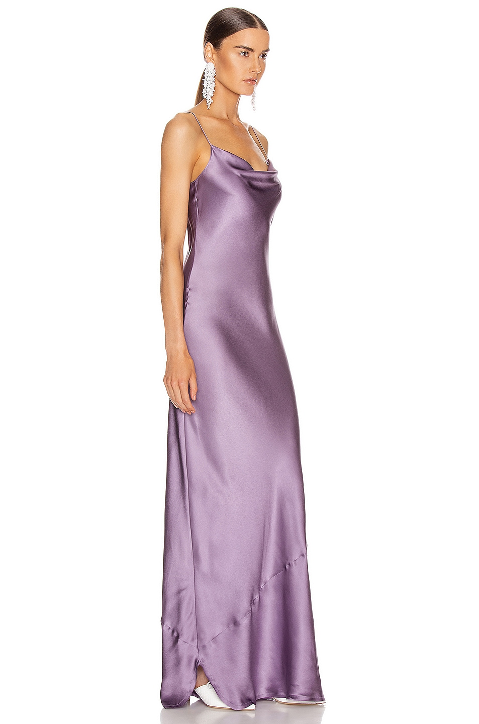 Image 2 of NILI LOTAN Juella Gown in Lilac