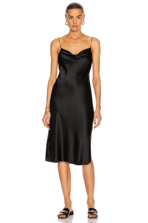 Image 1 of NILI LOTAN Junie Dress in Black