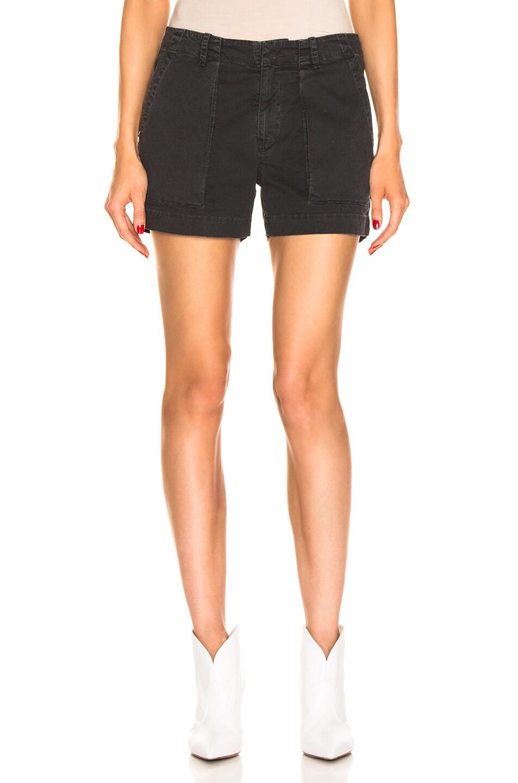 Image 1 of NILI LOTAN Utility Short in Washed Black