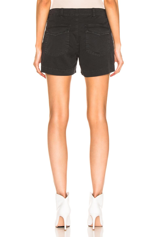 Image 3 of NILI LOTAN Utility Short in Washed Black