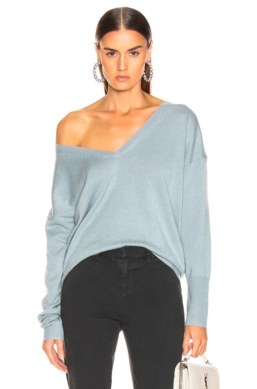 Image 1 of NILI LOTAN Kylan Sweater in Sky Blue