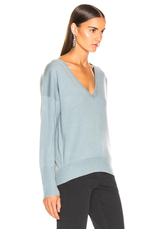 Image 3 of NILI LOTAN Kylan Sweater in Sky Blue
