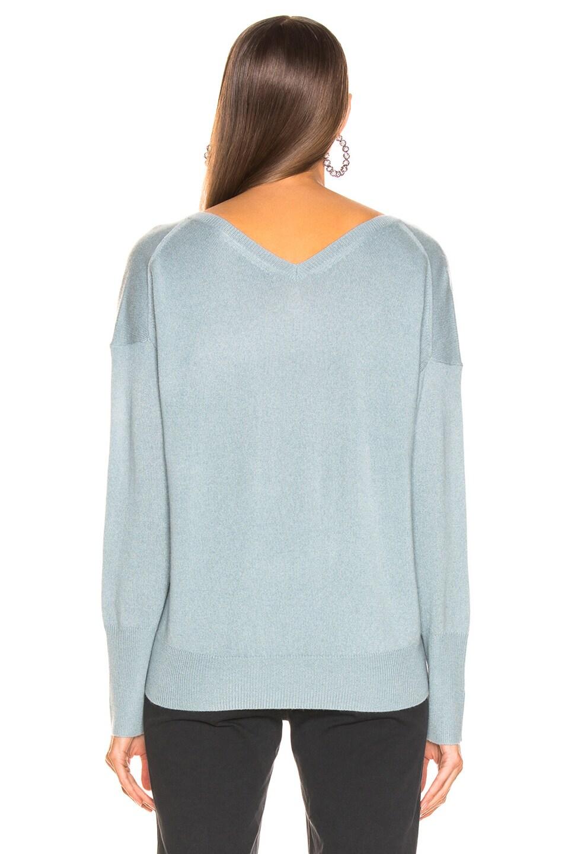 Image 4 of NILI LOTAN Kylan Sweater in Sky Blue