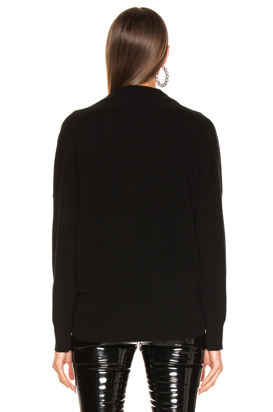 Image 3 of NILI LOTAN Lakota Sweater in Black