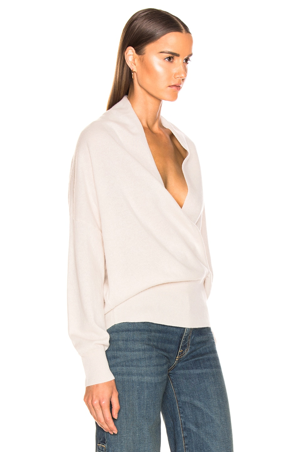 Image 3 of NILI LOTAN Lakota Sweater in Ivory