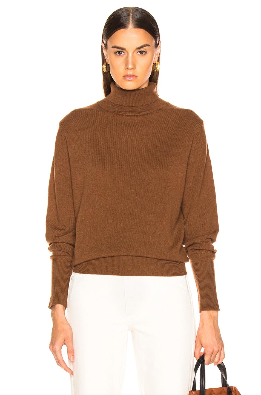 Image 1 of NILI LOTAN Ralphie Sweater in Cognac