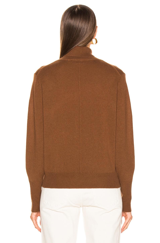 Image 3 of NILI LOTAN Ralphie Sweater in Cognac