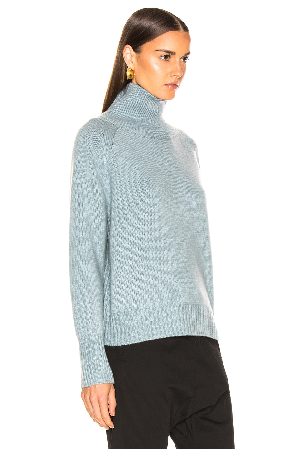 Image 2 of NILI LOTAN Mariah Sweater in Sky Blue