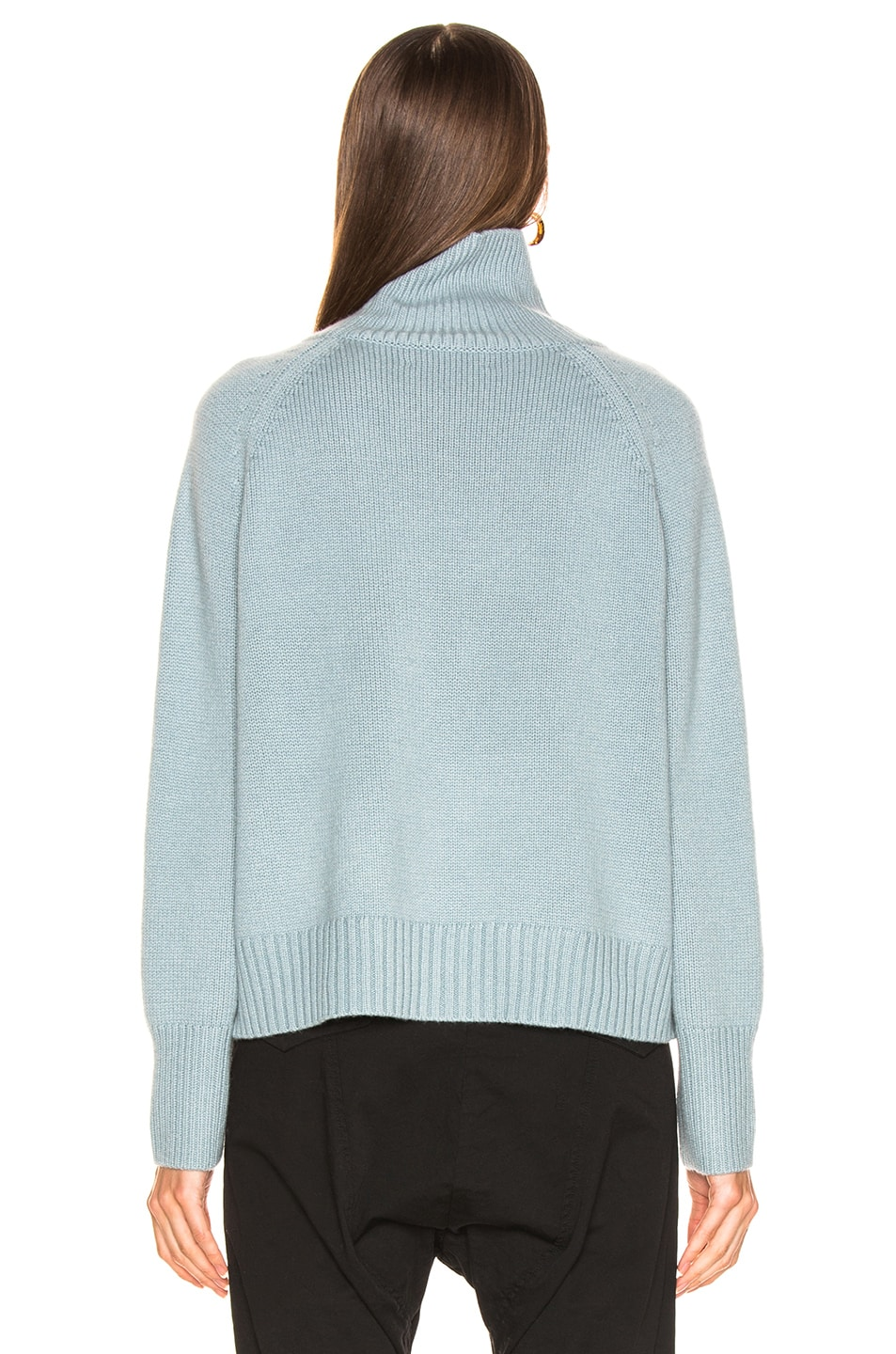 Image 3 of NILI LOTAN Mariah Sweater in Sky Blue
