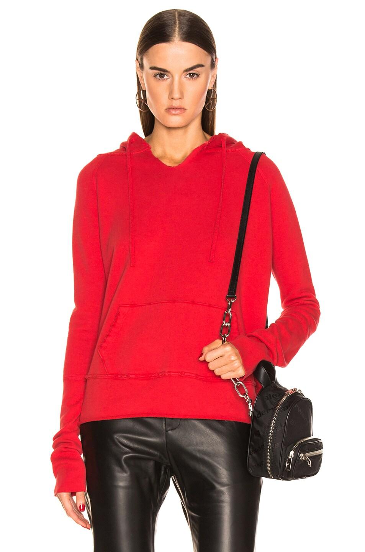 Image 1 of NILI LOTAN Janie Hoodie in Red