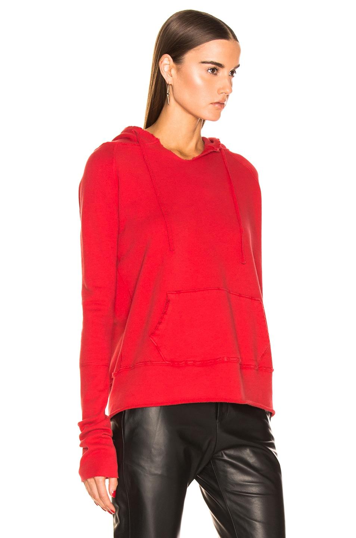 Image 2 of NILI LOTAN Janie Hoodie in Red
