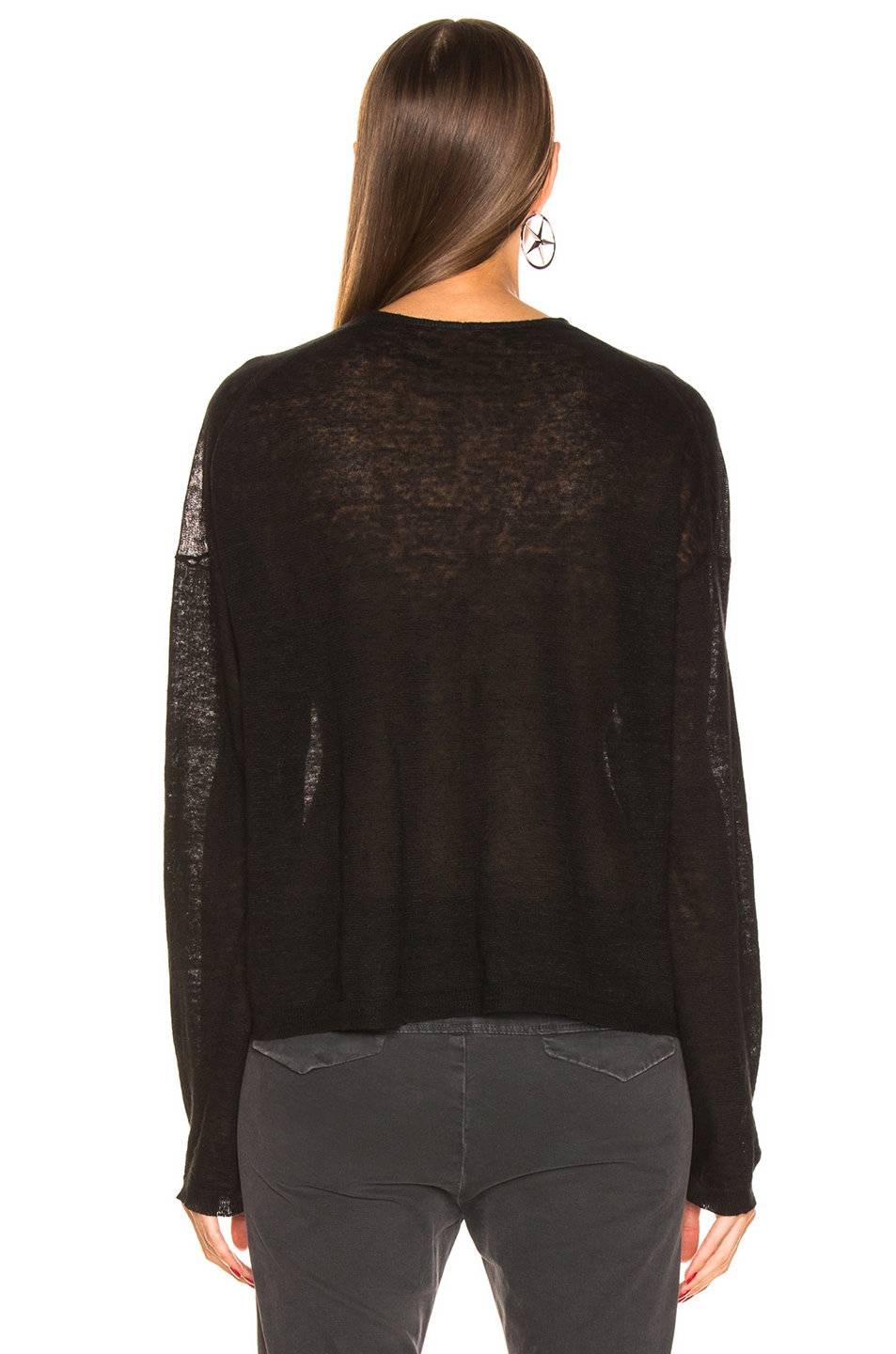 Image 3 of NILI LOTAN Arabella Sweater in Black