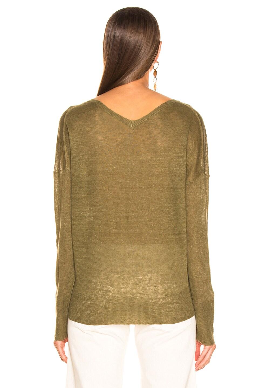 Image 3 of NILI LOTAN Nina Sweater in Olive