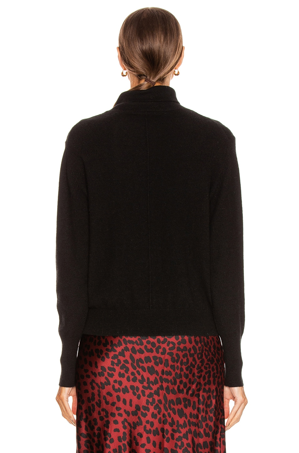 Image 3 of NILI LOTAN Ralphie Cashmere Sweater in Black