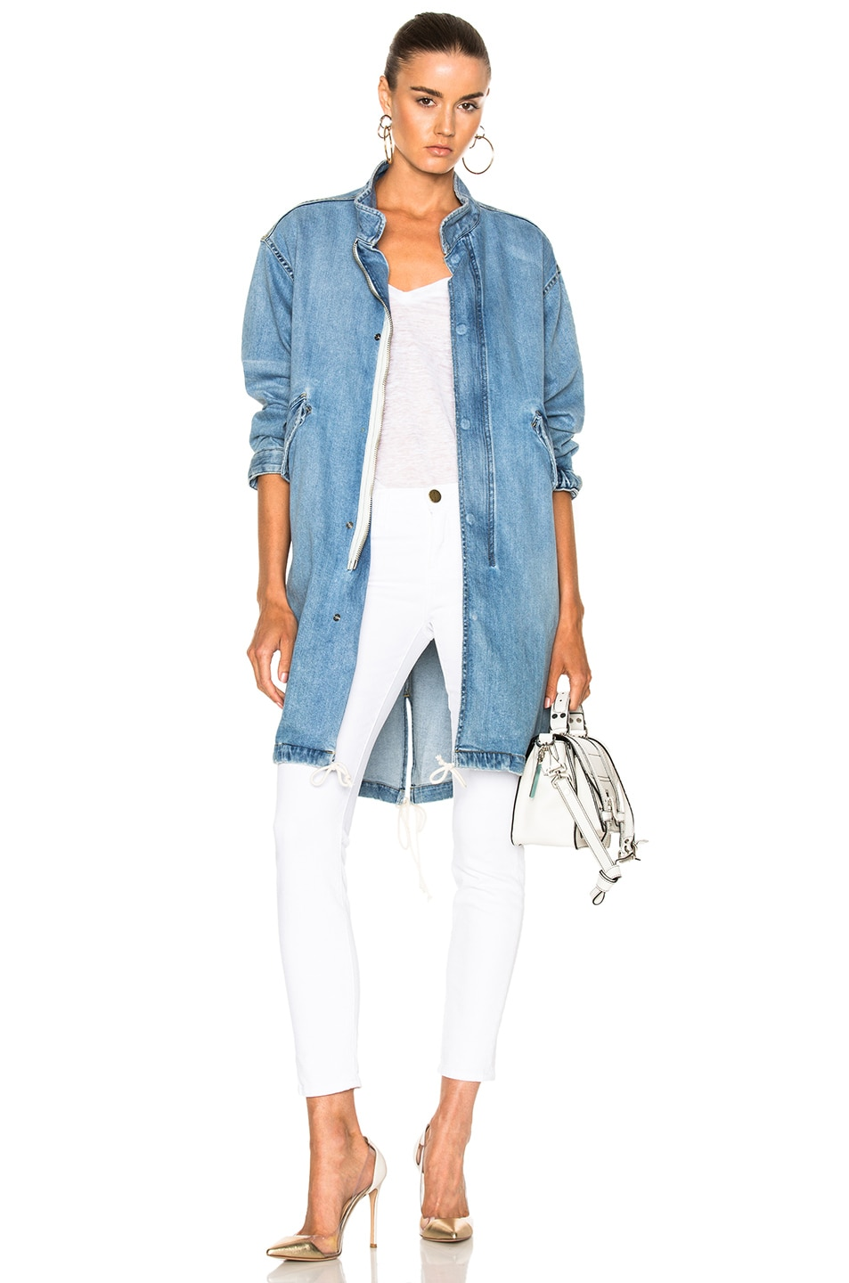 Image 1 of Nili Lotan Lexington Jacket in Beach Wash