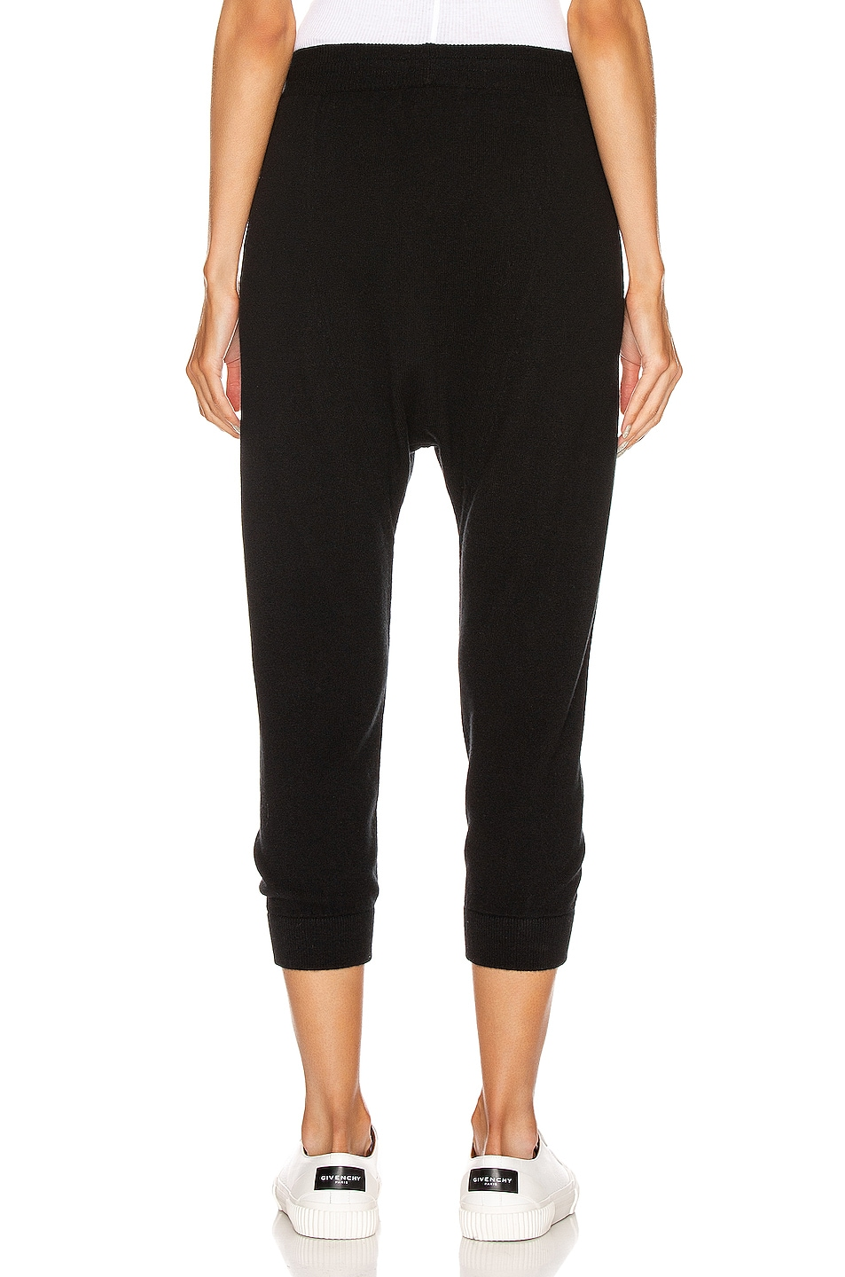 Image 3 of NILI LOTAN Paris Cashmere Sweatpant in Black