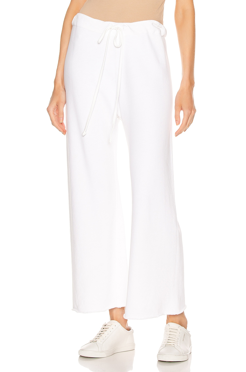 Image 1 of NILI LOTAN Kiki Sweatpant in Vintage White