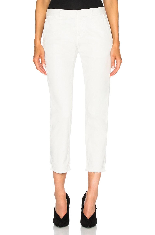 NILI LOTAN EAST HAMPTON PANTS IN WHITE