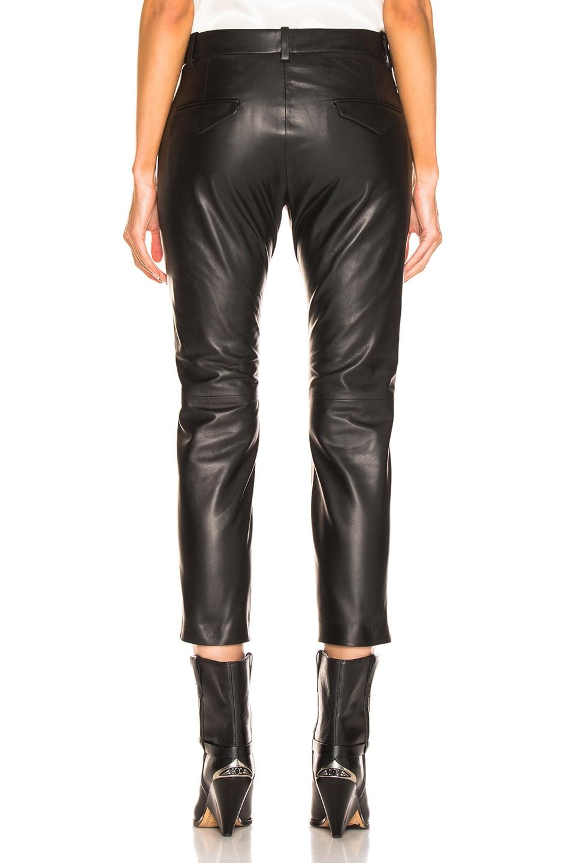 Image 3 of NILI LOTAN Tel Aviv Leather Pant in Black