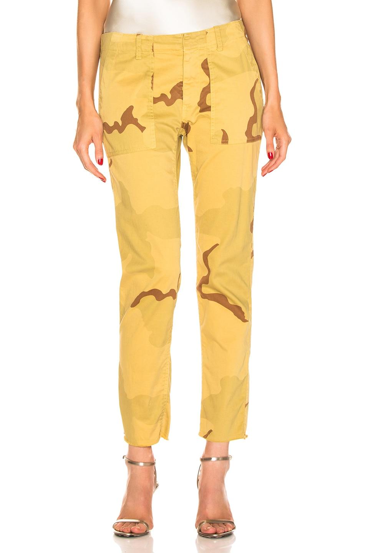 Image 1 of NILI LOTAN Jenna Pant in Golden Camouflage