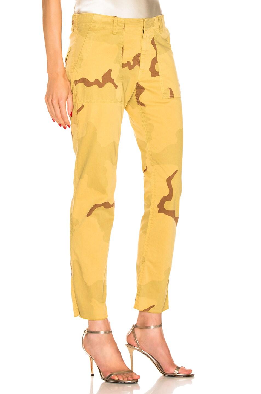 Image 2 of NILI LOTAN Jenna Pant in Golden Camouflage