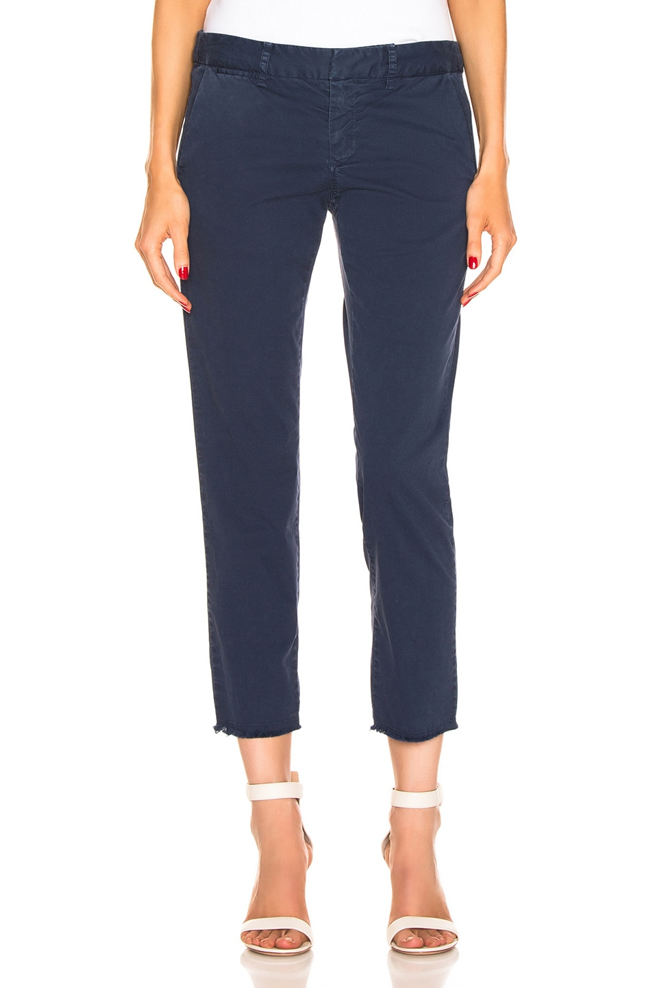 Image 1 of NILI LOTAN East Hampton Pant in Vintage Blue